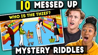 Teens Try To Solve 10 Messed Up Mystery Riddles | The 10s