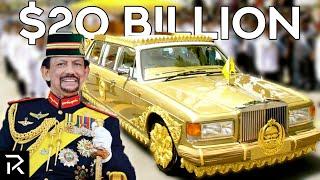 How The Sultan Of Brunei Spends $20 Billion
