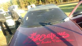 Rowdy 160 DB car tearing it up BOOM BABY
