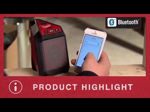 Milwaukee Bluetooth Jobsite Speaker