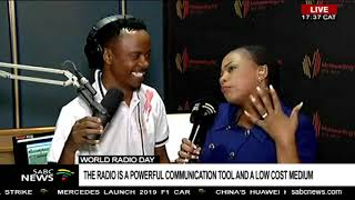 Celebrating World Radio Day with Motsweding FM