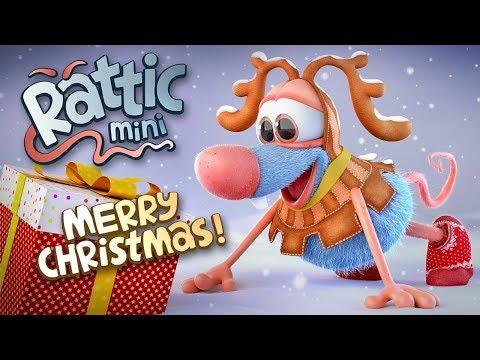 Christmas Funny Cartoon | Rattic Mini – Merry Christmas | Funny Cartoons For Children & Kids