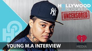 Young M.A talks New Music & Says She's Not a Lesbian on Hollywood Unlocked [UNCENSORED]