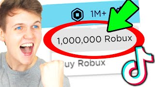 Can We Get These ROBLOX TIK TOK HACKS To ACTUALLY WORK!? (FREE MONEY?!)