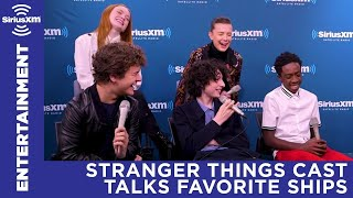 Stranger Things Cast on Which Characters They Ship