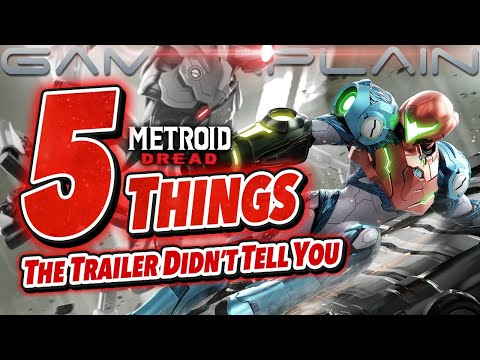 Metroid Dread - 5 Things The Trailer DIDN'T Tell You