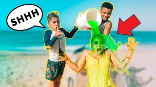 SLIME PRANK ON MY MOM!! | The Royalty Family