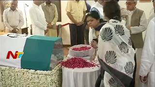 Vajpayee's mortal remains at his residence - Visuals..
