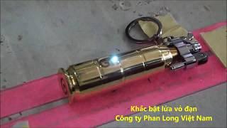 Bật lửa Vỏ Đạn khắc tên tại Hà Nội, TPHCM, Cần Thơ