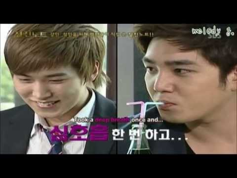 Super Junior's Funny Moment with Kangin & Sungmin (Eng/Esp)