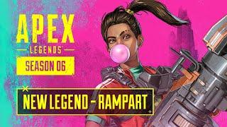 Meet Rampart – Apex Legends Character Trailer