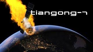 China's Space Station Crashes