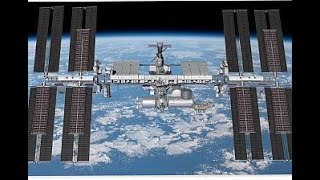 French and US astronauts spacewalk to install solar panel system on ISS | LIVE