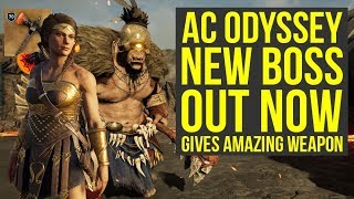 Assassin's Creed Odyssey DLC NEW AMAZING WEAPON From New Mythical Creature (AC Odyssey DLC)