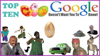 Top 10 Easter Eggs Google Doesn't Want You To Know!