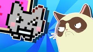 YO MAMA'S RAP BATTLES! Nyan Cat vs Grumpy Cat