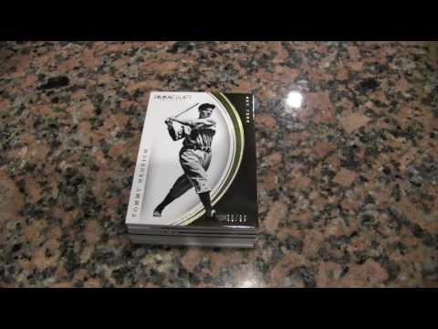 Box Busters: 2016 Immaculate Collection Baseball