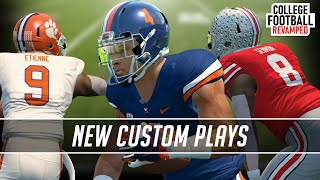 RPO's and Turf Tape Added to NCAA Football 14 the Via College Football Revamped V9 Mod...