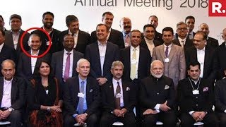 Nirav Modi Photobombed The CEOs' Photo Op with PM in Davo..