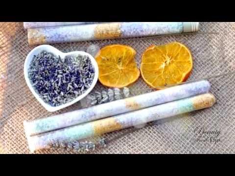 Homemade Detox Lavender Bath Salts & Exfoliating Body Scrub Recipes