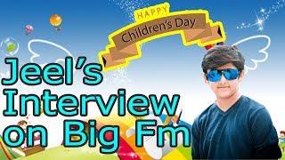 Happy Childrens Day | Jeel Shishangiya | Interview on Big FM | Rj Vinod