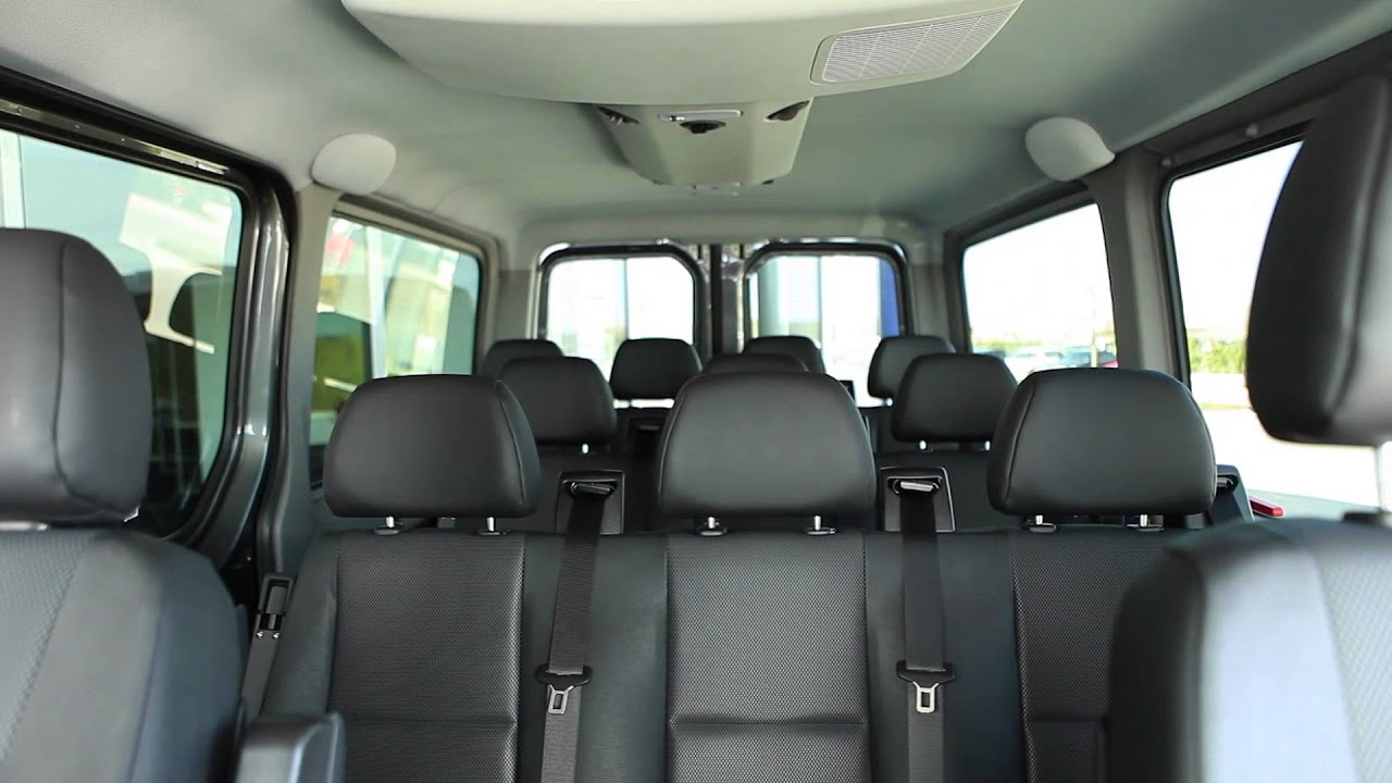 2013 Sprinter Passenger Van Walkaround - YouTube