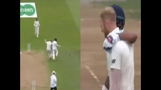 Dhawan shows brilliant gesture of sportsmanship after nudging Ben Stokes