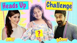 Heads Up Challenge - Guess The WORD ft. Soha Ali Khan | #Challenge #Fun #MyMissAnand