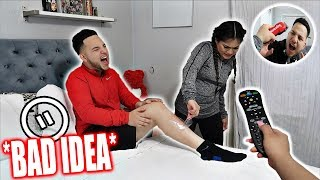 PAUSE CHALLENGE With BOYFRIEND For 24 HOURS! *Bad Idea*