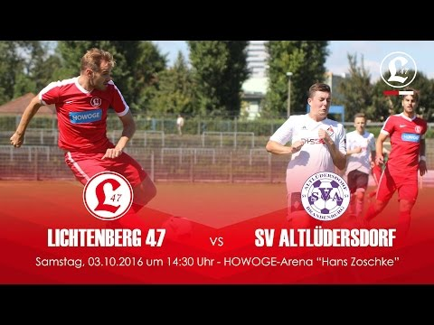 SV Lichtenberg 47 - SV Altlüdersdorf (NOFV-Oberliga Nord) - Spielszenen   SPREEKICK.TV