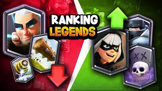 Ranking ALL 15 Legendary Cards   BIG Changes After Balance Update!