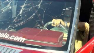 Breaking A Windshield w/ LOUD BASS SBN 2011 - Pipo Sanchez Shatters Glass Window w/ Car Audio FLEX
