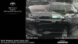 Used 2008 Toyota Sequoia | Hot Wheels Auto Sales LLC, Manchester, CT