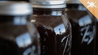 Mason Jar Cold Brew Coffee Experiment!