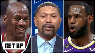 Jalen Rose explains why Michael Jordan is the greatest of all time over LeBron | Get Up