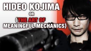 Hideo Kojima or (The Art of Meaningful Game Mechanics) - RagnarRox (Metal Gear Solid Analysis)