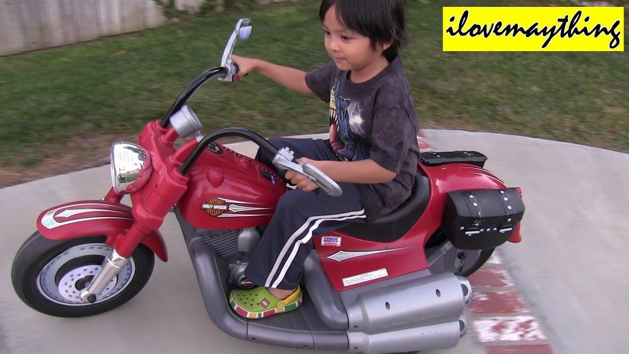 Motorcycle Power Wheels Harley Davidson Youtube