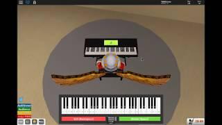 Girls Like You - Maroon 5 Piano ROBLOX