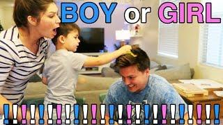 BABY GENDER REVEAL! BOY OR GIRL?