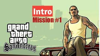 #1 GTA SAN ANDREAS Intro & Play Game