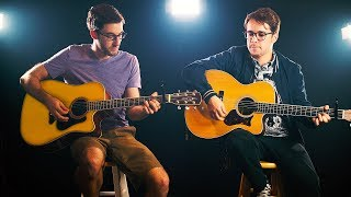 Green Day - Boulevard of Broken Dreams (Acoustic Cover by Nick Warner & Frank Moschetto)