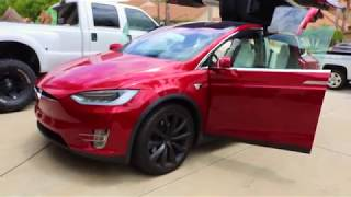 Tesla Model X Ceramic Pro Gold Package & Interior Coating Package