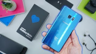 Unboxing Samsung Galaxy Note FE Indonesia!