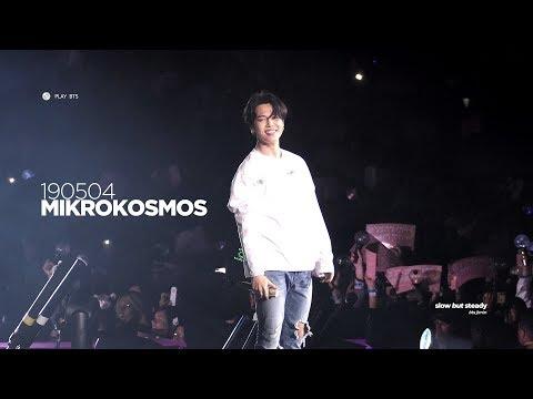 190504 방탄소년단 지민 (BTS JIMIN) - 소우주 MIKROKOSMOS (JIMIN FOCUS 4K fancam)