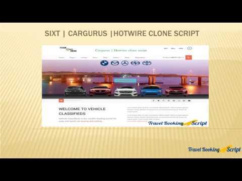 Hotwire Script | Cargurus Script from Travel Booking Script