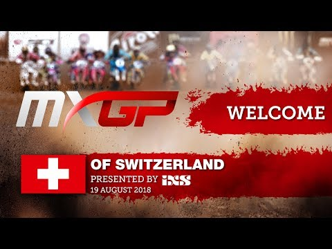 MXGP of Switzerland 2018 - Welcome, Postcard and Pit Chat