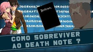COMO SOBREVIVER AO DEATH NOTE? | QSN #34