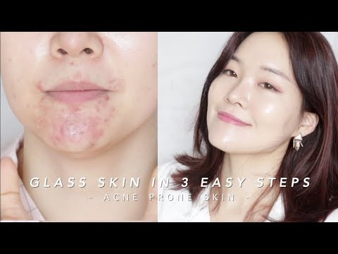 How to get Glass Skin in 3 steps #lazygirlhack | 단 3단계로 광채피부만들기!