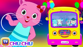 Wheels On The Bus (SINGLE) | Nursery Rhymes by Cutians | ChuChu TV Kids Songs