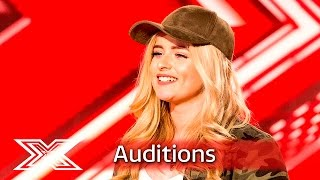 Caitlyn leaves Nicole emotional with Kelly Clarkson hit | Auditions Week 1 | The X Factor UK 2016